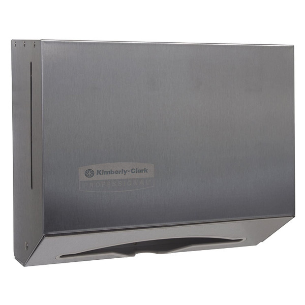 Janitorial and Cleaning Supplies,Paper Dispensers,SCOTT,KCC09216CS,Scott Scottfold Folded Towel Dispenser 09216