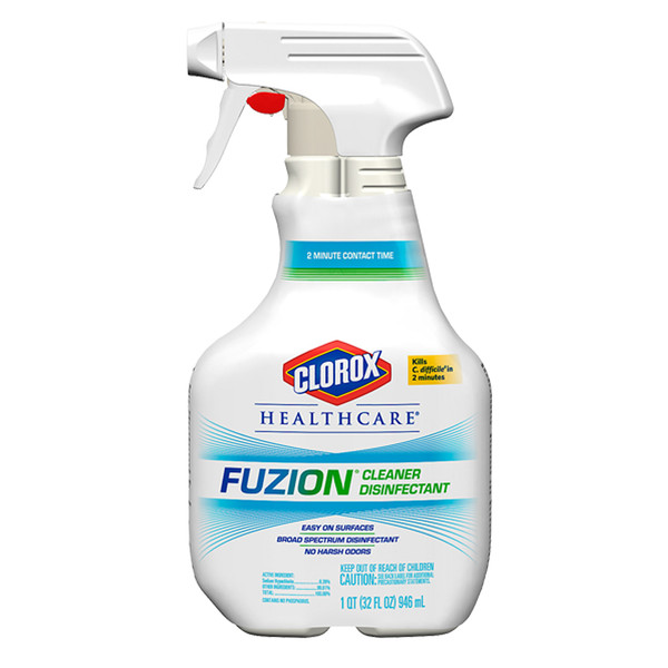 Janitorial and Cleaning Supplies,Cleaning Chemicals,JS Cleaners and Detergent,CLOROX,CLO01671,Clorox Healthcare Fuzion Cleaner Disinfectant