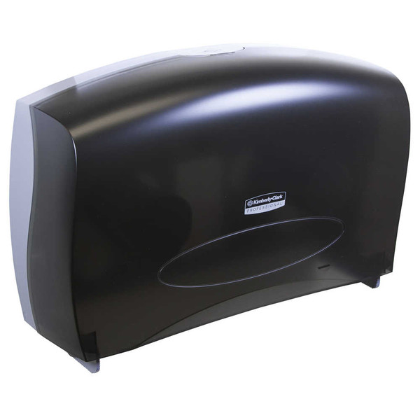 Janitorial and Cleaning Supplies,Paper Dispensers,KIMBERLY-CLARK,KCC09551CS,Kimberly-Clark Professional Cored Jrt Bathroom Tissue Dispenser 09551