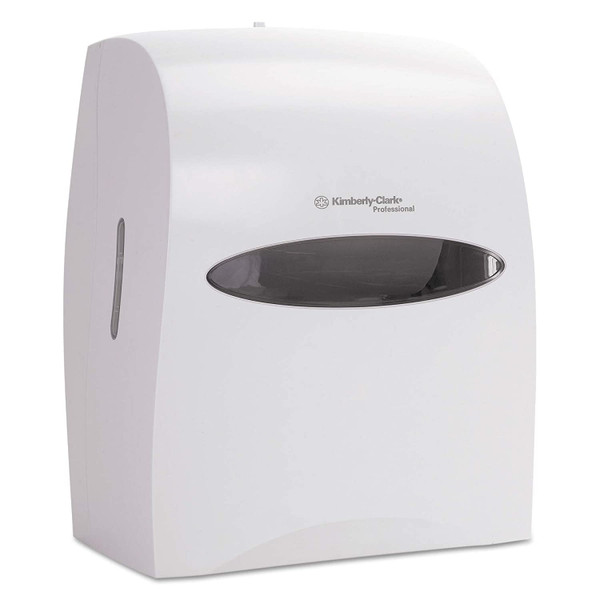 Janitorial and Cleaning Supplies,Dispensers,Paper Dispensers,KIMBERLY-CLARK,KCC09993CS,Kimberly-Clark Professional Electronic Touchless Roll Towel Dispenser 09993