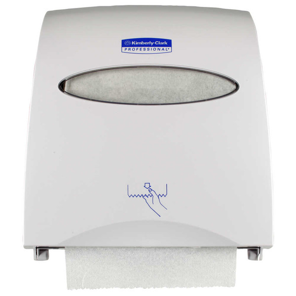 Janitorial and Cleaning Supplies,Dispensers,Paper Dispensers,KIMBERLY-CLARK,KCC10442CS,Kimberly-Clark Professional Slimroll Towel Dispenser 10442