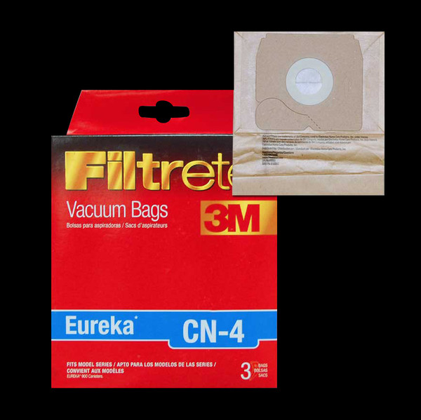 Bags and Parts,Bag and Filters,Paper Bags,EUREKA,67740,67740 Eureka Cn-4 Bag 3M Filtrete Fits