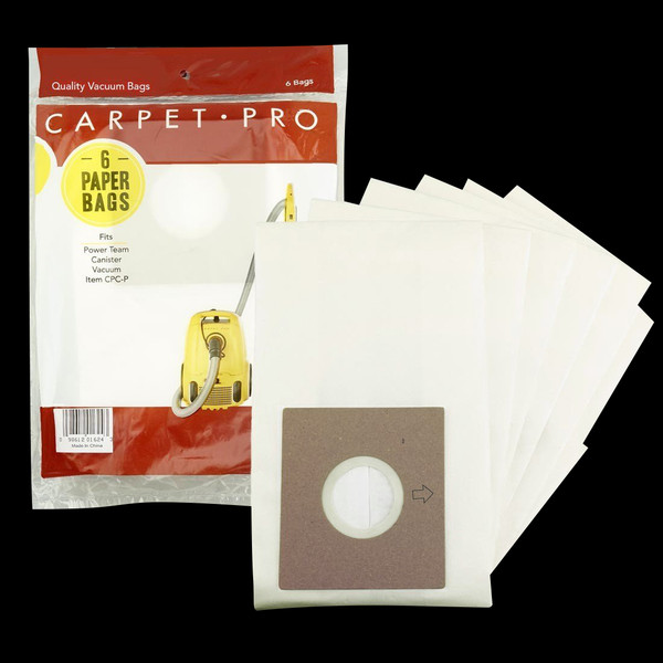 Bags and Parts,Bag and Filters,Paper Bags,CARPET PRO,XS357,Xs357 Carpet Pro Oem Paper Bag