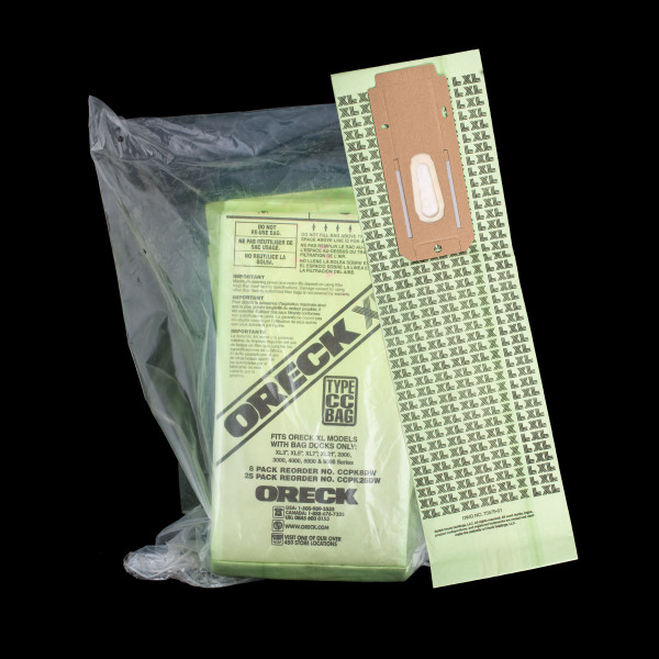 Bags and Parts,Bag and Filters,Paper Bags,ORECK,XO600125,Xo600125 Oreck Oem Paper Bag