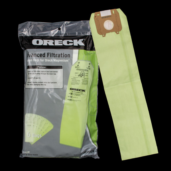 Bags and Parts,Bag and Filters,Paper Bags,ORECK,XO11878,Xo11878 Oreck Magnesium Oem Paper Bag