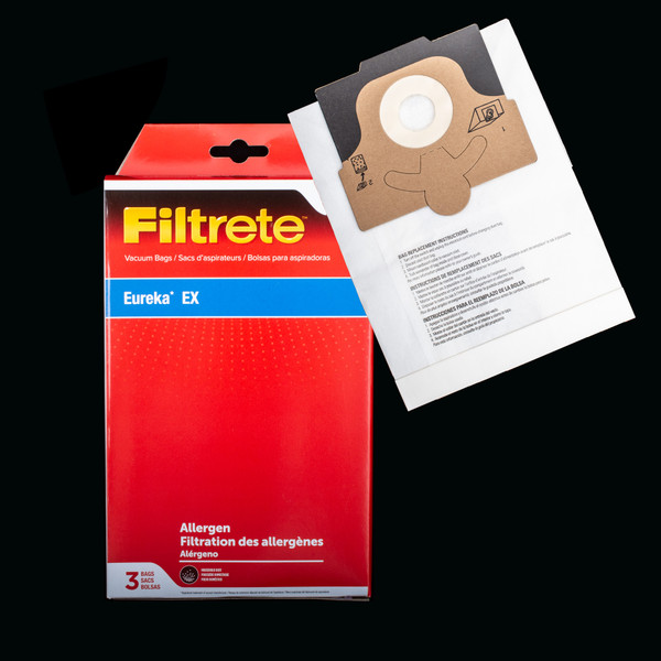Bags and Parts,Bag and Filters,Paper Bags,EUREKA,67284,67284 Eureka Ex Bag 3M Filtrete Fits Models