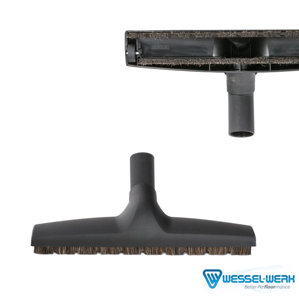 """Bags and Parts,Parts and Accessories,Floor Brushes,VACUUM WAREHOUSE,TF320B,Tf320B Floor Tool Wessel Werk D320 Black 12"""""""