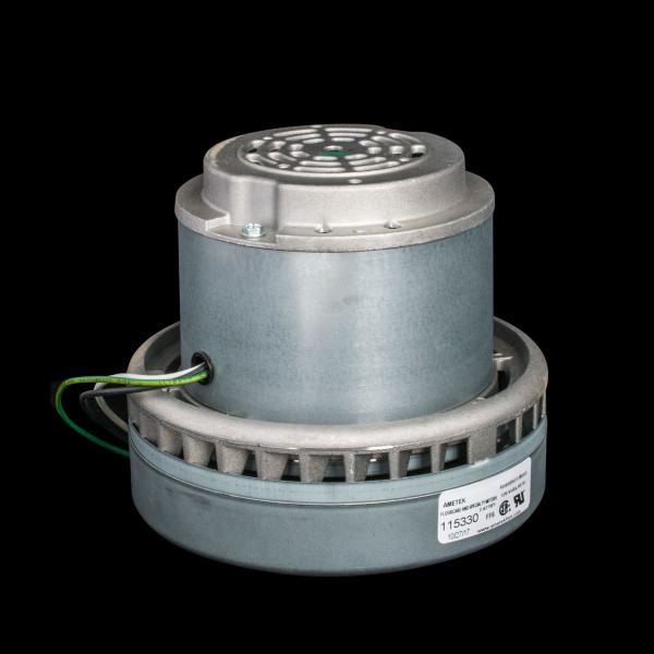 Bags and Parts,Parts and Accessories, Vacuum Motors,LAMB AMETEK,M115330,M115330 Lamb Motor 2 Stage Bypass 7.2""