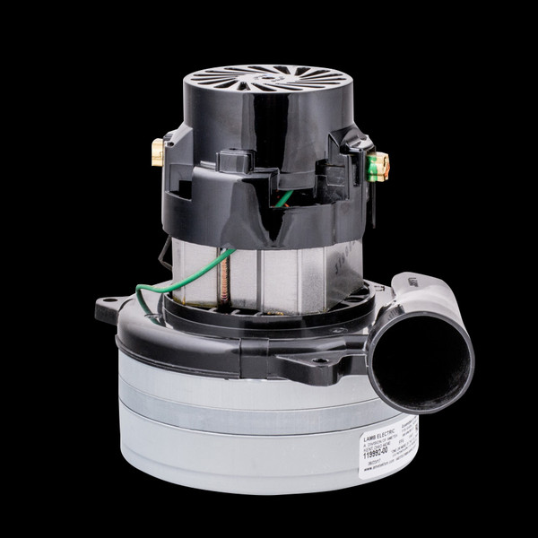 """Bags and Parts,Parts and Accessories, Vacuum Motors,LAMB AMETEK,M119992-00,M119992-00 Lamb Oem Motor 2 Stage Bypass Tangential Discharge Bearing Bearing 115 Volt 5.7"""""""