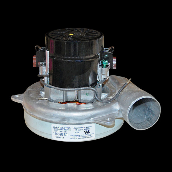 Bags and Parts,Parts and Accessories, Vacuum Motors,LAMB AMETEK,M116520-50,M116520-50 Lamb Motor 1 Stage Bypass 5.7""
