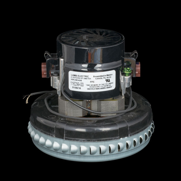 Bags and Parts,Parts and Accessories, Vacuum Motors,LAMB AMETEK,M116299-00,M116299-00 Lamb Motor 1 Stage Bypass 5.7""