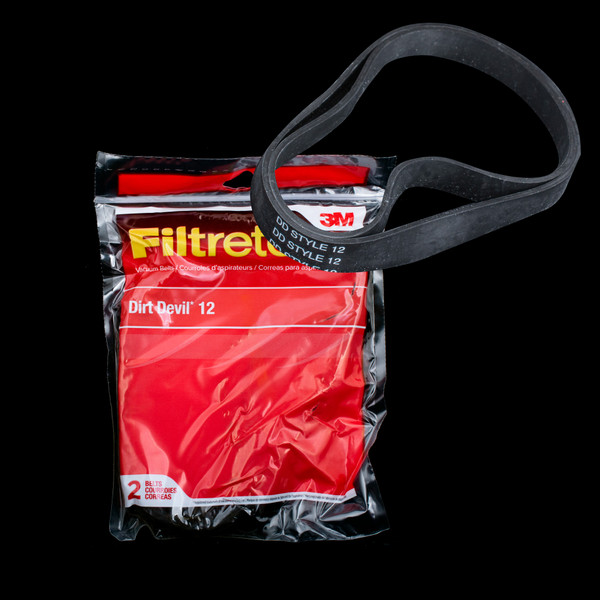Bags and Parts,Parts and Accessories,Vacuum Belts,DIRT DEVIL,65012,65012 Dirt Devil 12 Belt 3M Filtrete