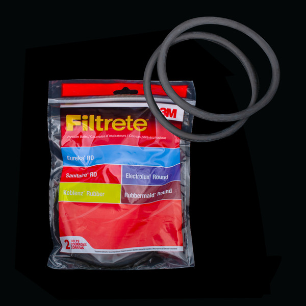 Bags and Parts, Parts and Accessories, Vacuum Belts,67100,67100,67100 Eureka Electrolux Sanitaire Round Belt 3M Filtrete