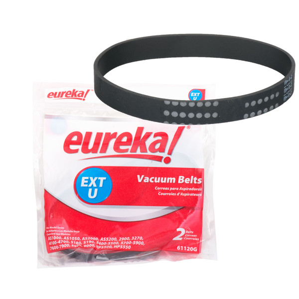 Bags and Parts, Parts and Accessories, Vacuum Belts,XE54312,XE54312,Xe54312 Eureka Oem Flat Vacuum Belt