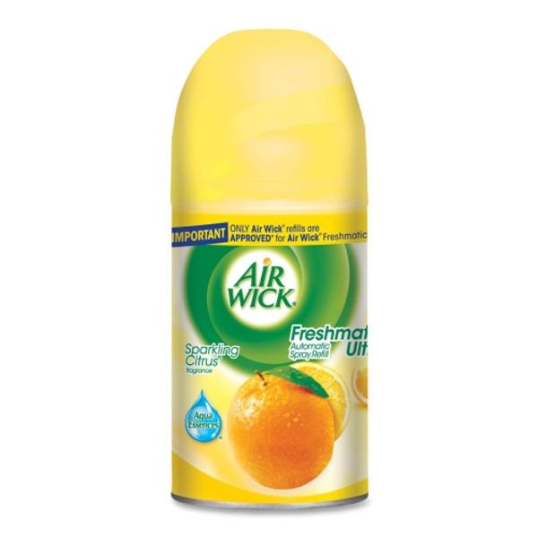 Deodorizers,AIRWICK,RAC77965,Airwick Freshmatic Refill Sparkling Citrus Rac77965
