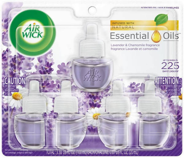 Deodorizers,AIRWICK,RAC81570,Airwick Scented Oil 2Pk Country Berries Rac81570