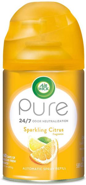 Deodorizers,AIRWICK,RAC88581,Airwick Freshmatic Refill 3Pk Sparkling Citrus Rac88581