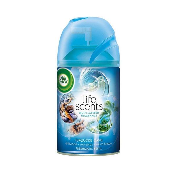 Deodorizers,AIRWICK,RAC92962,Airwick Freshmatic Refill Life Scents Turquoise Oasis Rac92962