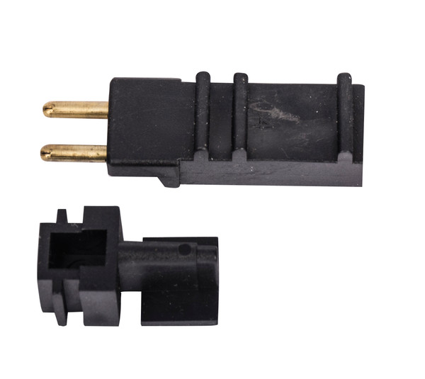 Bags and Parts, Parts and Accessories, Plugs - Receptacles,XHF130,XHF130,Xhf130 Hiflex Oem Direct Connect Plug 2 Round Pin Male Black