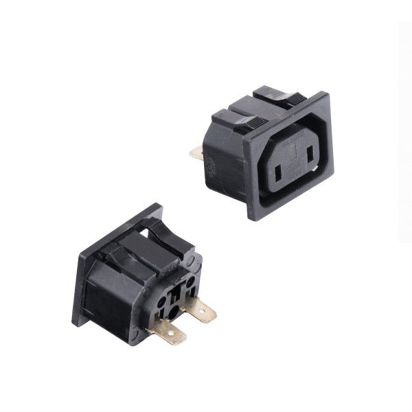Bags and Parts, Parts and Accessories, Plugs - Receptacles,XGB2506189,XGB2506189,Xgb2506189 Ghibli Receptacle New Euro Style As6 Blade