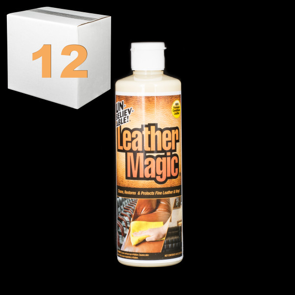 Janitorial and Cleaning Supplies,Cleaning Chemicals,Stain Removers,SJ131CS-12,SJ131CS12,Sj131Cs-12 Unbelievable Leather Magic Stain Remover - Pack Of 12