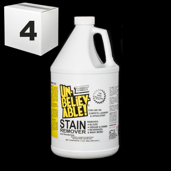 Janitorial and Cleaning Supplies,Cleaning Chemicals,Stain Removers,SJ139CS-4,SJ139CS4,Sj139Cs-4 Unbelievable Stain Remover Gallon Mutli Purpose - Package Of 4