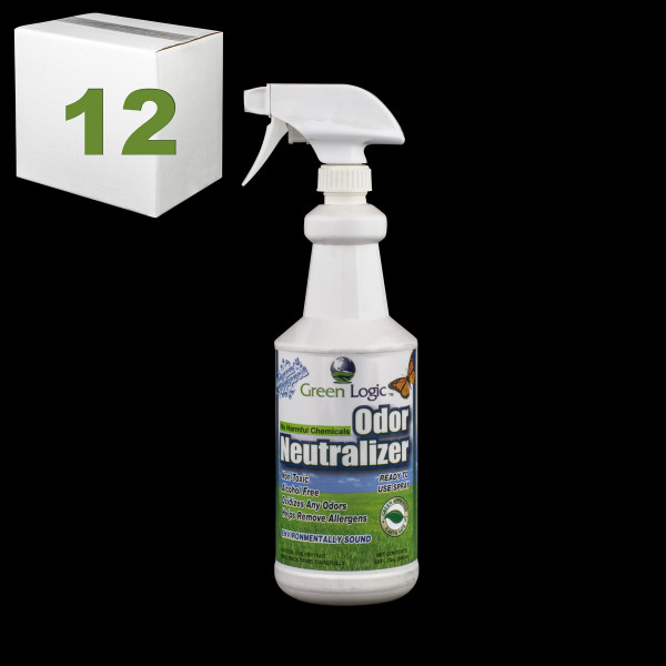 Janitorial and Cleaning Supplies,Cleaning Chemicals,Stain Removers,SJ151CS-12,SJ151CS12,Sj151Cs-12 Core Green Logic Odor Neutralizer - Pack Of 12