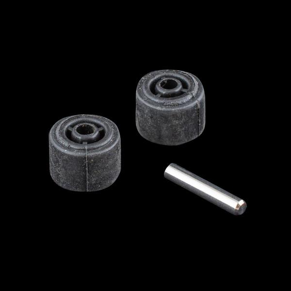Vacuum Parts,Wheels - Castors,XRS014,XRS014,Xrs014 Readivac Eaze Stickvac Rubber Wheel Rear