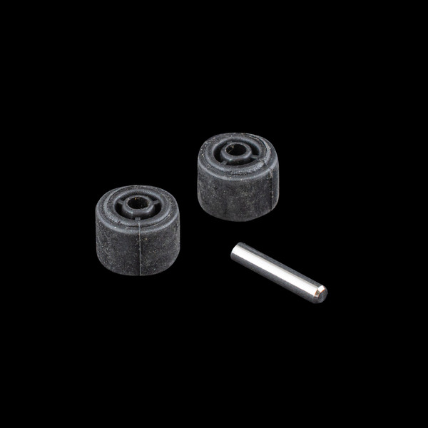 Vacuum Parts,Wheels - Castors,XRS013,XRS013,Xrs013 Readivac Eaze Stickvac Rubber Wheel Front