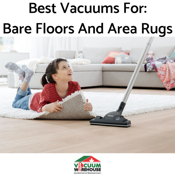 Best Canister Vacuum Cleaners For Bare Floors and Rugs