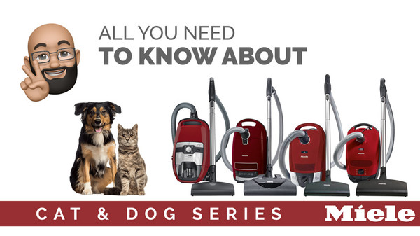 What's the difference between Miele C1, C2, CX1, and C3 Cat & Dog Models?