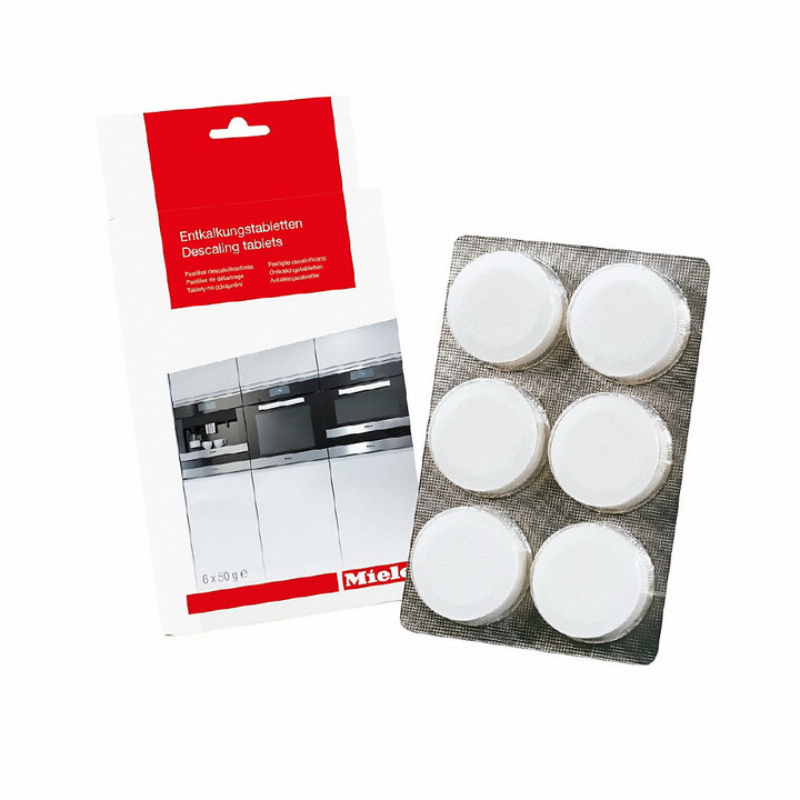 MIELE DESCALING TABLETS FOR COFFEE AND STEAM MACHINES