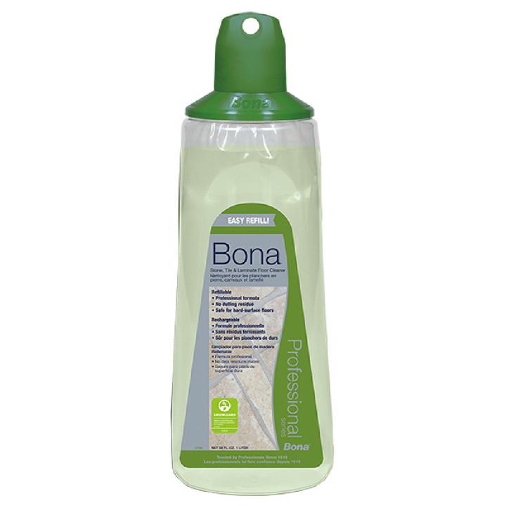 BONA STONE, TILE AND LAMINATE CLEANER CARTRIDGE REFILL 34 OZ
