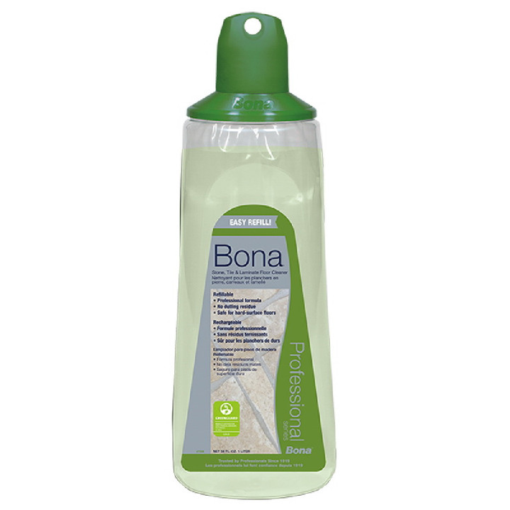 BONA STONE, TILE AND LAMINATE CLEANER CARTRIDGE REFILL 34 OZ