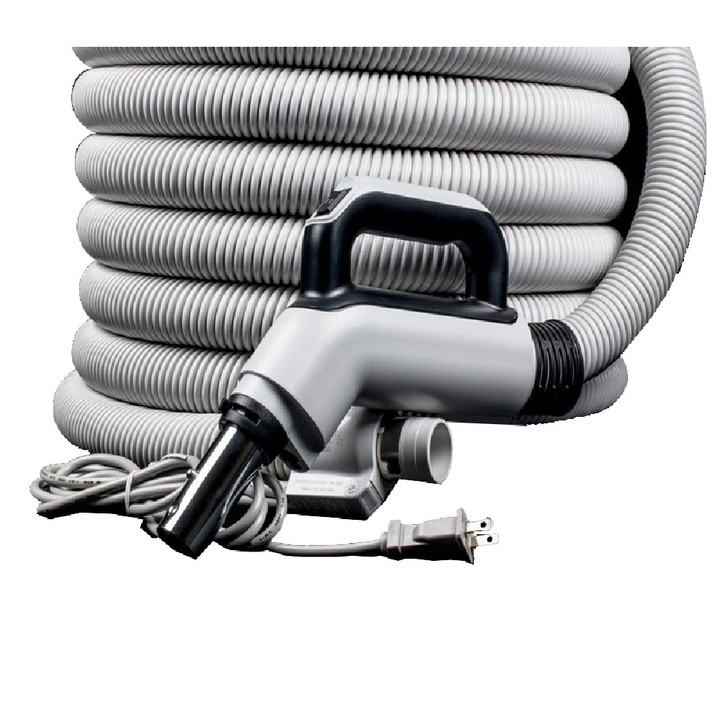 UNIVERSAL CENTRAL VACUUM 30'- 3WAY SWITCH ELECTRIC HOSE - HOSE ONLY
