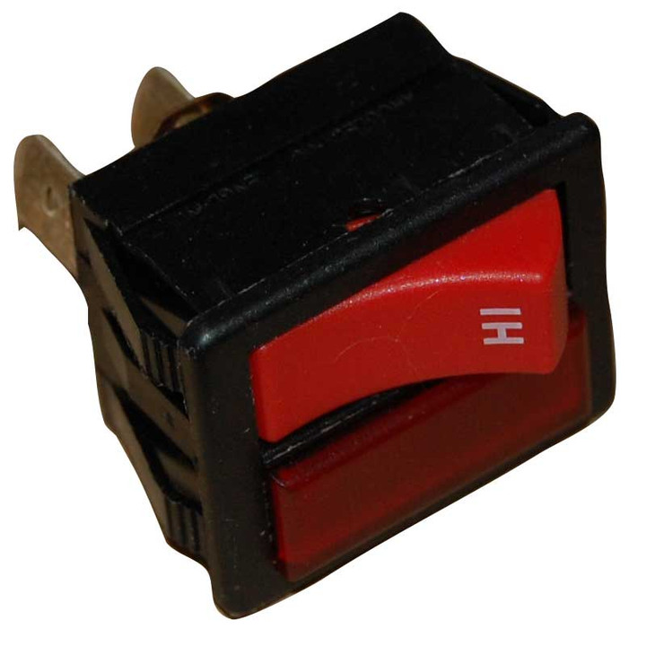 NUMATIC OEM MOMENTARY SWITCH HI LOW RED HENRY HETTY JAMES