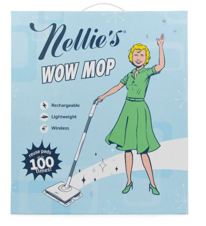 Nellie's Cordless Wow Mop
