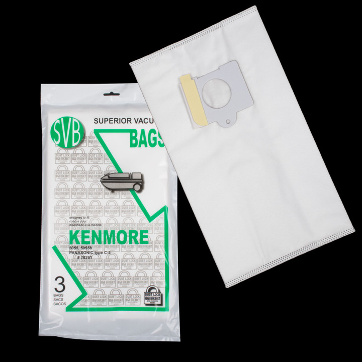 Bags and Parts,Bag and Filters,Hepa Bags,KENMORE,BA70261,Ba70261 Kenmore Dustlock Hepa Bag
