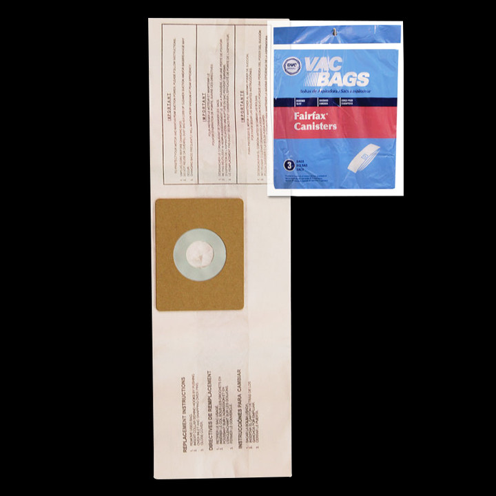 Bags and Parts,Bag and Filters,Paper Bags,FAIRFAX,BA10/56,Ba10 56 Fairfax Paper Bag