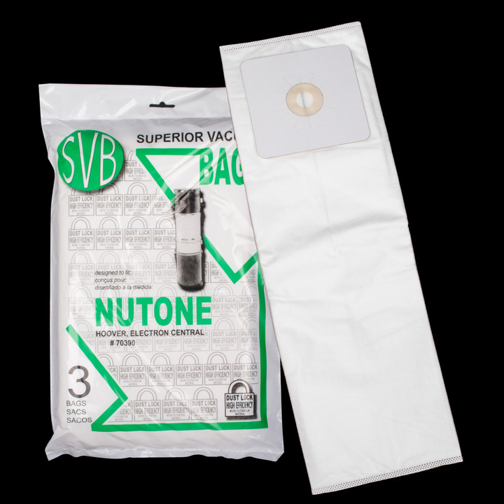 Bags and Parts,Bag and Filters,Hepa Bags,NUTONE,BA70390,Ba70390 Nutone Broan Electron  Hepa Bags