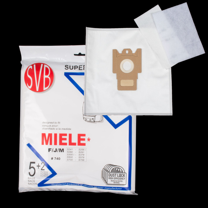 Bags and Parts,Bag and Filters,Hepa Bags,MIELE,BA740,Ba740 Miele Dustlock Filter Bag
