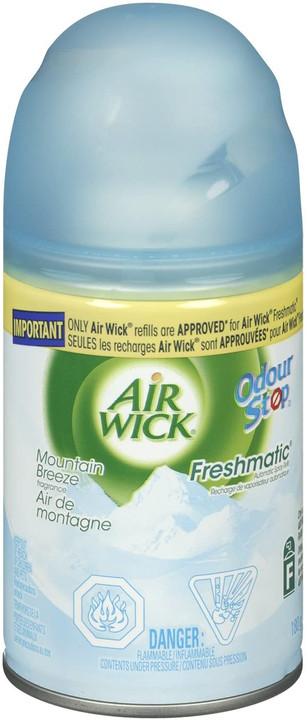Deodorizers,AIRWICK,RAC806,Airwick Freshmatic Starter Kit - Incl. Refill Mountain Breeze Rac806