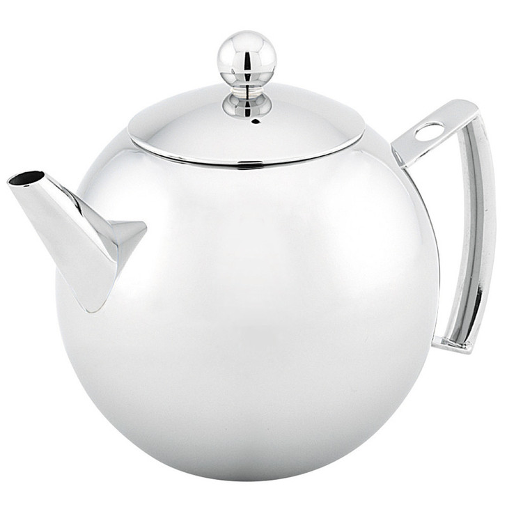 Mondo Teapot  - 1.25L / 8 Cup - Stainless Steel
