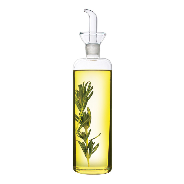 Glass Slender Oil And Vinegar Cruet - 500ml