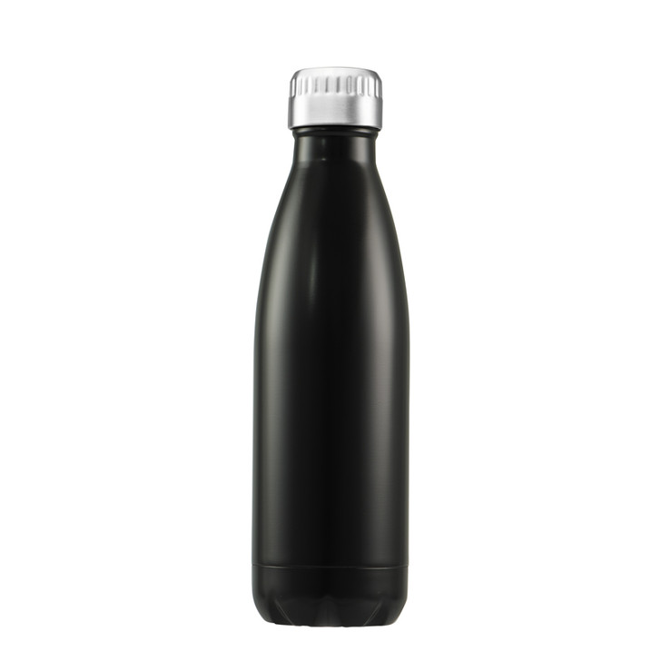 Fluid Vacuum Bottle - 750ml - Matt Black