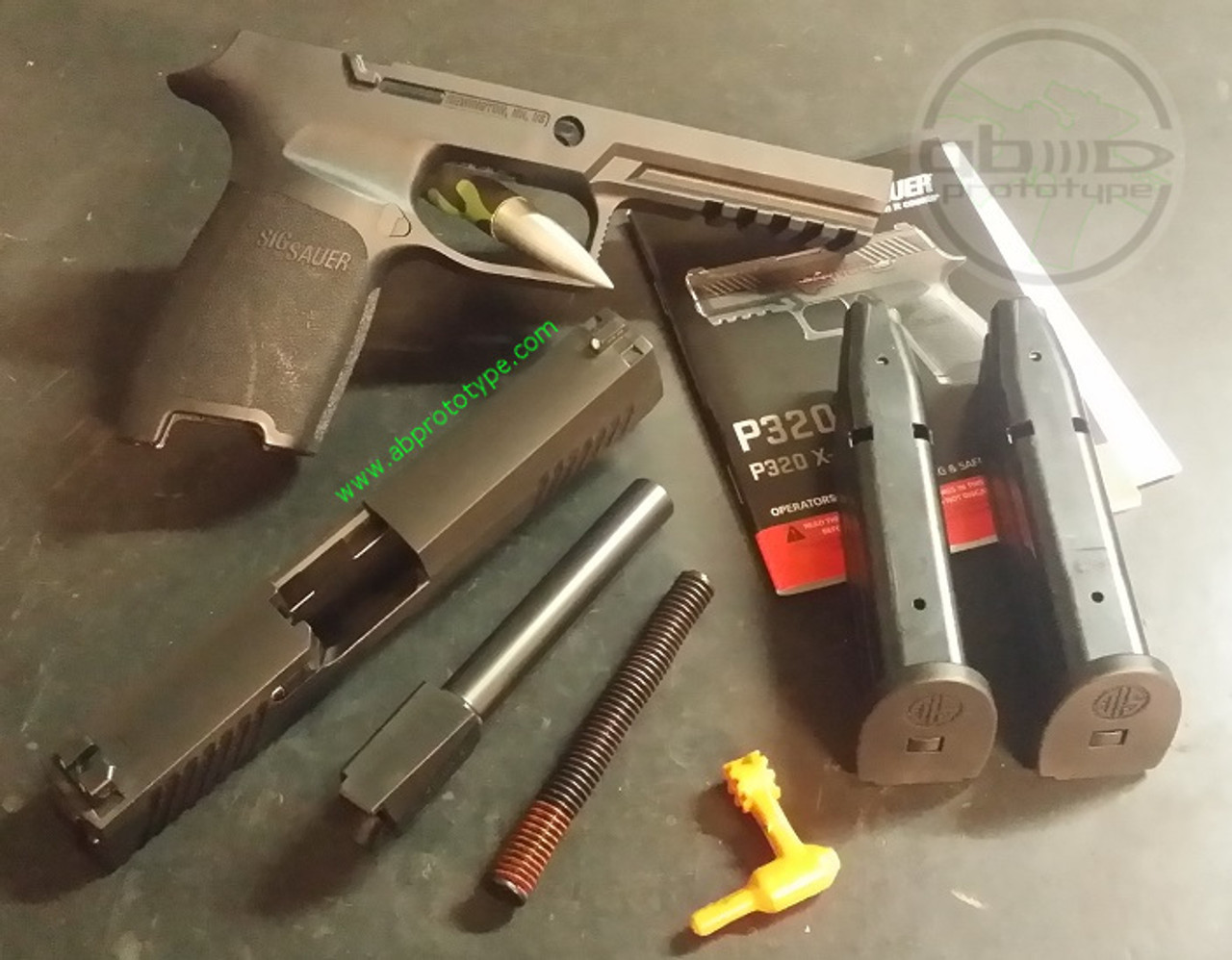Refurbished SIG P320 9mm Full-Size Complete Parts Kit with JSD 80% Frame