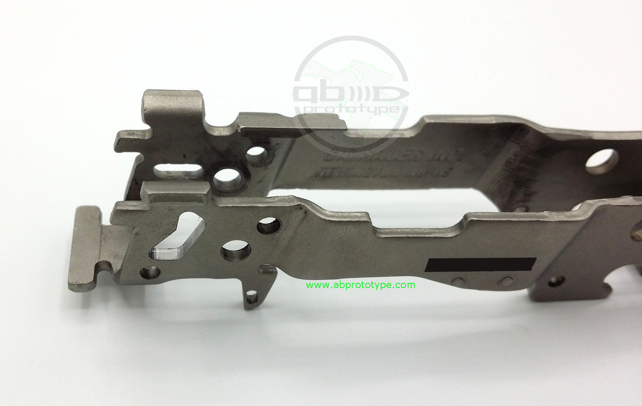 SIG Sauer P320 Manual Safety Frame