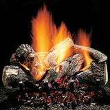 18'' Hargrove Burnt Oak Vented Gas Logs - Logs Only