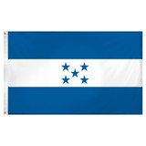 Honduras flag 3ft x 5ft Super Knit polyester