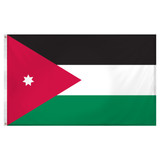Jordan Flag 3ft x 5ft Super Knit Polyester